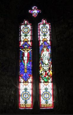 Window in St Mary's Cathedral